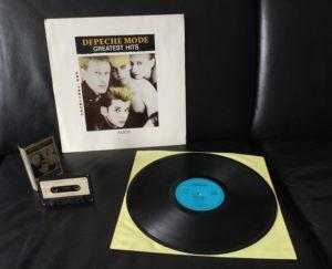 70 Jahre Amiga und 30 Jahre Depeche Mode Greatest Hits LP