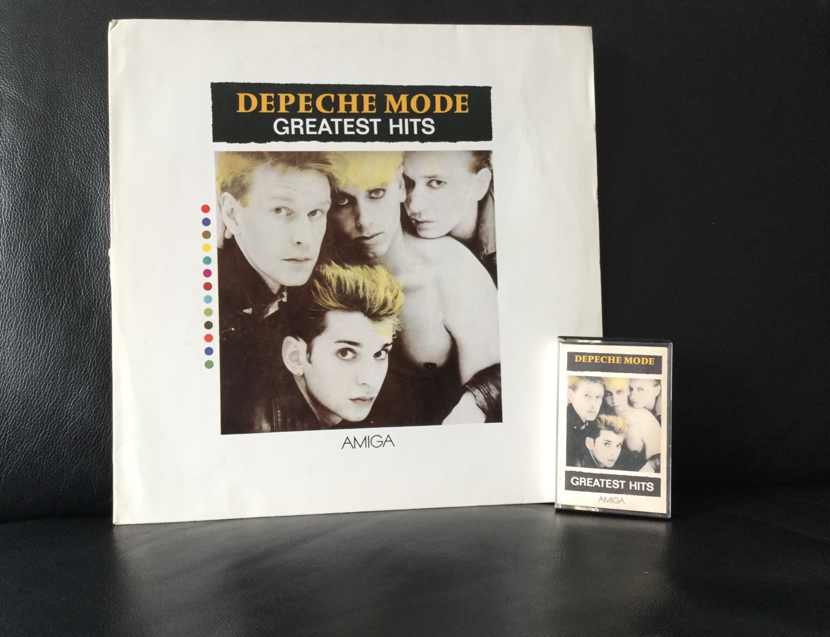 Depeche Mode Greatest Hits LP und Stereo Kassette