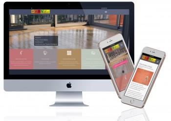 Webseite mit Wordpress - MAHNatur