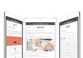 Steuerbüro Barbara Michael mit neuer Webseite jetzt Online - Webdesign Würzburg