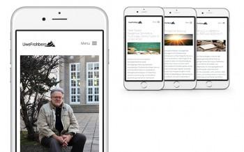 Uwe Frohberg Responsives Webdesign
