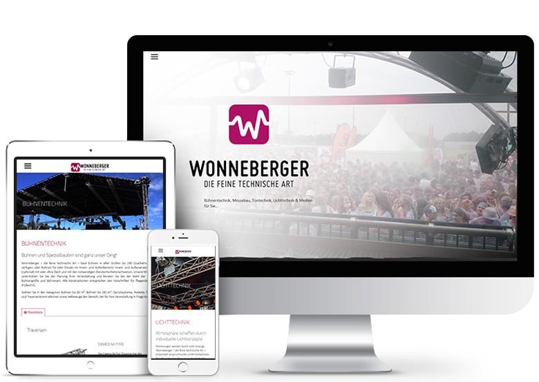 Wonneberger Chemnitz | Bühnentechnik, Lichttechnik, Tontechnik, DJ Equpment